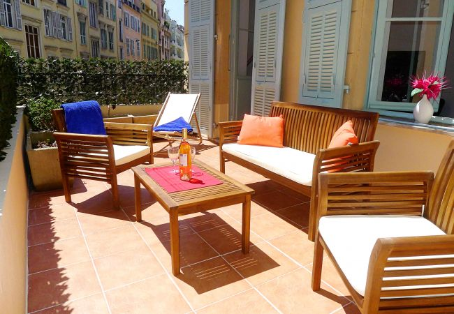 Apartment in Nice - CARRE D'OR TERRACE AP4015