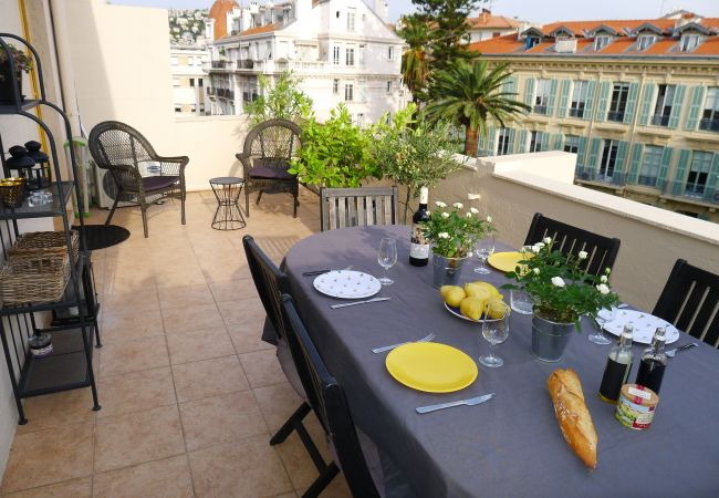 Apartment in Nice - PALAIS L`ESCURIAL AP4069